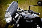 TRIUMPH STREET TWIN - Classic Fly Screen: 3 Tints Available!